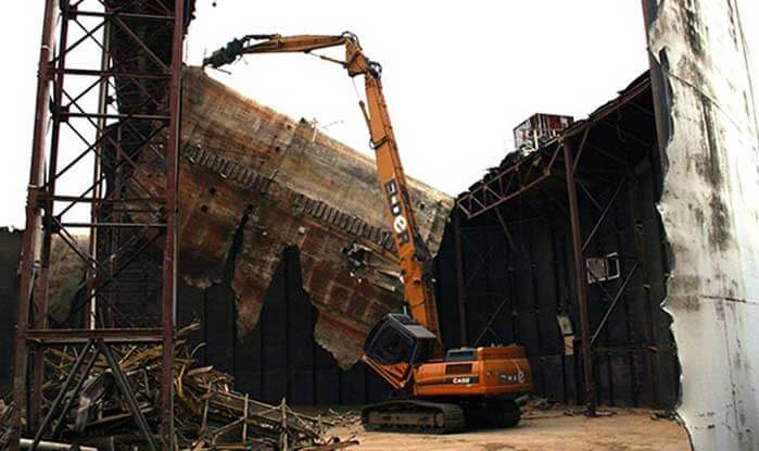 Demolition Building Material Recycling