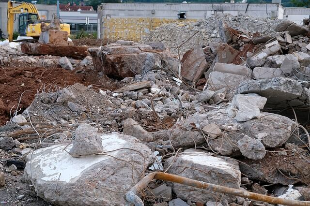 Contruction rubbish? You need demolition clean up services