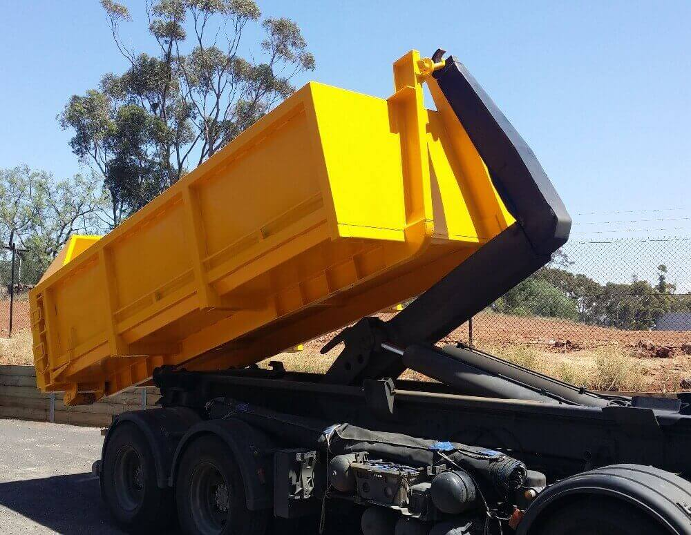 Hook Bins - Commercial Skip Bins Perth | Dream Lucky