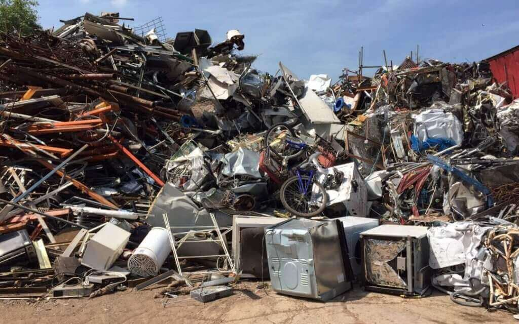 Scrap Metal for Recycling Yard in Bayswater